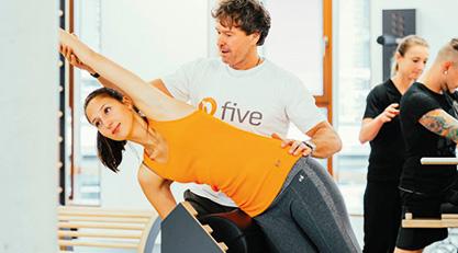 five - das Rücken- und Gelenkkonzept